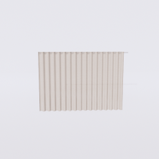 布幔_帘子4_Sketchup模型
