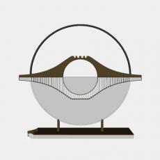中式_040中式摆件_Sketchup模型
