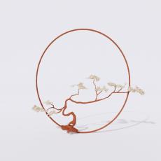 中式_046中式摆件_Sketchup模型