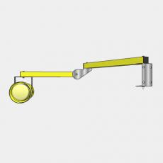 壁灯_壁灯46_Sketchup模型