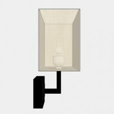 壁灯_壁灯60_Sketchup模型
