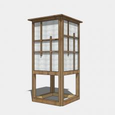 家装灯具_日式灯具15_Sketchup模型