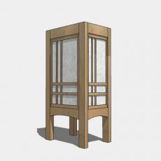 家装灯具_日式灯具17_Sketchup模型