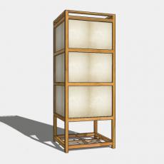 家装灯具_日式灯具18_Sketchup模型