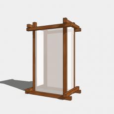 家装灯具_日式灯具24_Sketchup模型