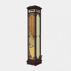 家装灯具_日式灯具26_Sketchup模型