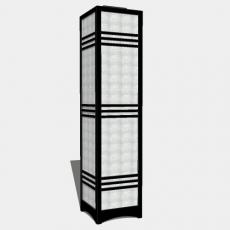 家装灯具_日式灯具27_Sketchup模型