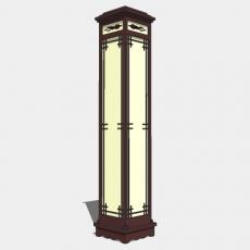 家装灯具_日式灯具28_Sketchup模型