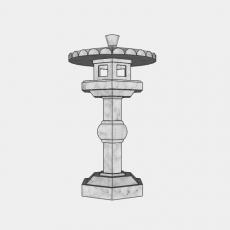 家装灯具_日式灯具2_Sketchup模型