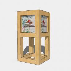 家装灯具_日式灯具30_Sketchup模型