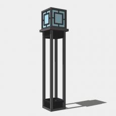 家装灯具_日式灯具5_Sketchup模型