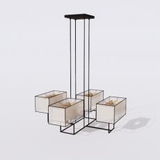 家装灯具_禅意灯具10_Sketchup模型