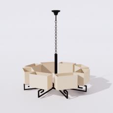 家装灯具_禅意灯具11_Sketchup模型