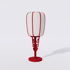 家装灯具_禅意灯具14_Sketchup模型