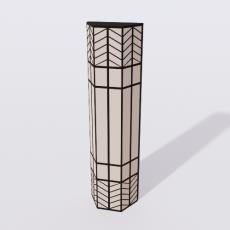 家装灯具_禅意灯具17_Sketchup模型