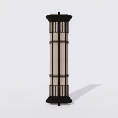 家装灯具_禅意灯具22_Sketchup模型