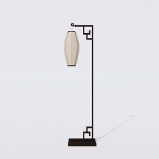 家装灯具_禅意灯具27_Sketchup模型