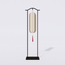 家装灯具_禅意灯具29_Sketchup模型