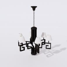 家装灯具_禅意灯具2_Sketchup模型