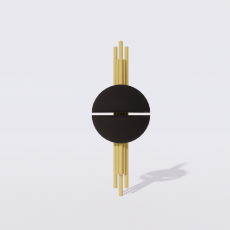 家装灯具_禅意灯具45_Sketchup模型