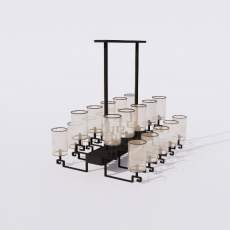 家装灯具_禅意灯具46_Sketchup模型