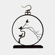 摆件_014中式摆件_Sketchup模型