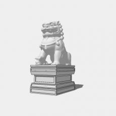 假山_中式雕塑012_Sketchup模型