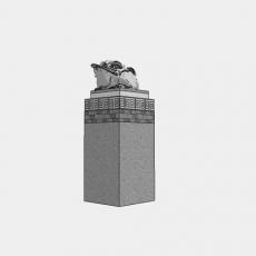 假山_中式雕塑021_Sketchup模型