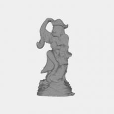 假山_023中式雕塑_Sketchup模型