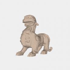 假山_025中式雕塑_Sketchup模型