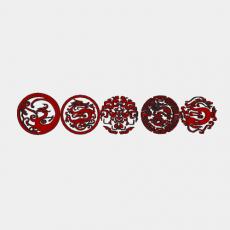 假山_026中式雕塑_Sketchup模型