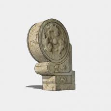 假山_041中式雕塑_Sketchup模型