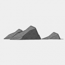 假山_052中式假山_Sketchup模型