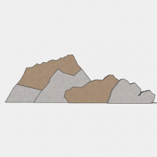 假山_056中式假山_Sketchup模型