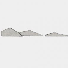 假山_058中式假山_Sketchup模型