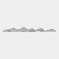 假山_061中式假山_Sketchup模型