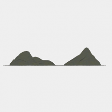 假山_064中式假山_Sketchup模型
