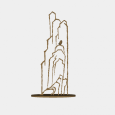 假山_065中式假山_Sketchup模型