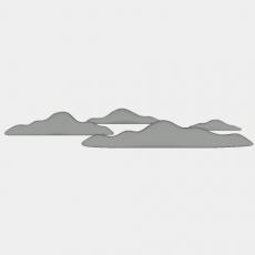 假山_067中式假山_Sketchup模型