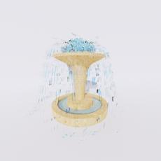 其他_喷泉10_Sketchup模型