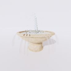 其他_喷泉12_Sketchup模型