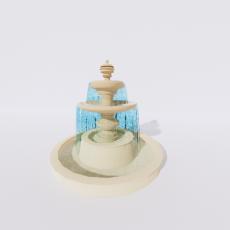 其他_喷泉13_Sketchup模型