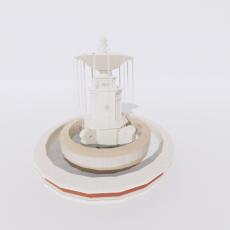 其他_喷泉16_Sketchup模型