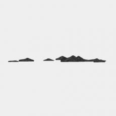 墙体_057中式景墙_Sketchup模型