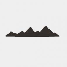 墙体_059中式景墙_Sketchup模型