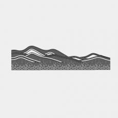 墙体_061中式景墙_Sketchup模型