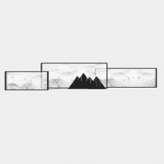墙体_065中式景墙_Sketchup模型