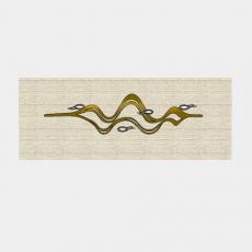 墙体_066中式景墙_Sketchup模型