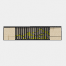 墙体_069中式景墙_Sketchup模型