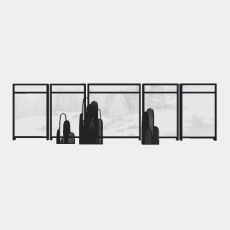 墙体_083中式景墙_Sketchup模型